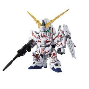 [Gundam: SD Cross Silhouette: Model Figure: Unicorn Gundam (Destroy Mode) (Product Image)]