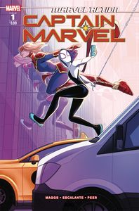 [Marvel Action: Captain Marvel #1 (Product Image)]