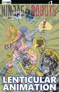 [Ninjas & Robots #1 (Cover E Lenticular) (Product Image)]