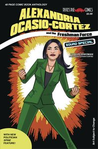 [Alexandria Ocasio-Cortez & The Freshman Force: Squad Special #1 (Cover B) (Product Image)]