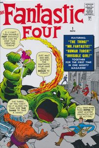 [Fantastic Four: Omnibus: Volume 1 (Hardcover - New Printing) (Product Image)]