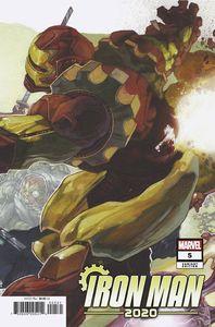 [Iron Man: 2020 #5 (Bianchi Connecting Variant) (Product Image)]
