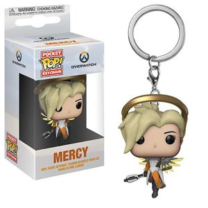 [Overwatch: Pocket Pop! Vinyl Keychain: Mercy (Product Image)]