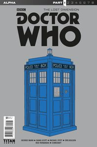 [Doctor Who: Lost Dimension: Alpha #1 (Cover A Tardis) (Product Image)]
