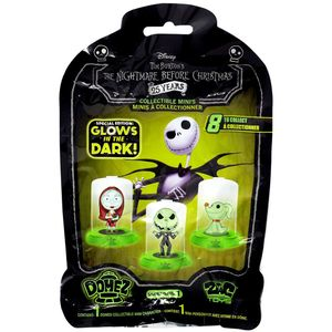 [Nightmare Before Christmas: Domez Figures: Glow In The Dark (Product Image)]