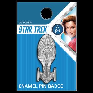 [Star Trek: Voyager: Enamel Pin Badge: Voyager (NCC-74656) (Product Image)]