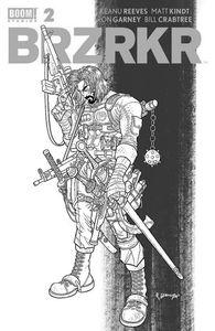 [BRZRKR (Berzerker) #2 (Black & Red Secret Variant) (Product Image)]