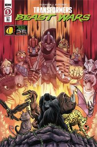 [Transformers: Beast Wars #6 (Cover C Nick Roche Variant) (Product Image)]