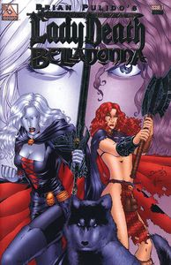 [Medieval: Lady Death/Belladonna #1 (Platinum Foil Variant) (Product Image)]