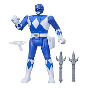 [Power Rangers: Retro Morph Action Figure: Blue Ranger (Product Image)]