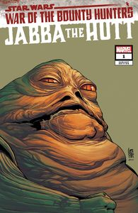 [Star Wars: War Of The Bounty Hunters: Jabba The Hutt #1 (Headshot Variant) (Product Image)]