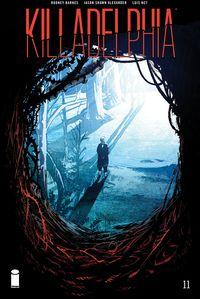 [The cover for Killadelphia #11 (Cover A Alexander)]