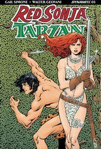 [Red Sonja/Tarzan #3 (Cover A Lopresti) (Product Image)]