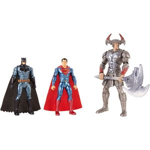 [Justice League: Action Figure 3-Pack Set: Batman & Superman Vs Steppenwolf (Product Image)]
