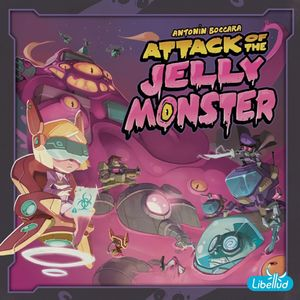 [Attack Of The Jelly Monster: Board Game (Product Image)]