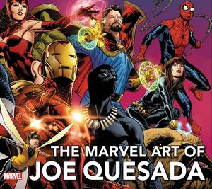 [The Marvel Art Of Joe Quesada (New Printing Hardcover) (Product Image)]