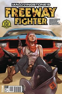 [Freeway Fighter #1 (Cover B Oliver) (Product Image)]