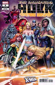 [Immortal Hulk #8 (Pacheco Uncanny X-Men Variant) (Product Image)]