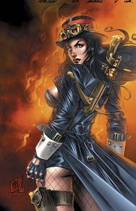 [Grimm Fairy Tales: Van Helsing Vs Dracula #4 (A Cover Lilly) (Product Image)]