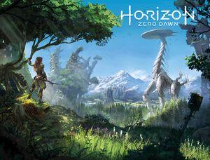 [Horizon Zero Dawn #3 (Cover B Game Art Wraparound) (Product Image)]
