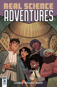 [Real Science Adventures: Nicodemus Job #3 (Cover B Leuver) (Product Image)]