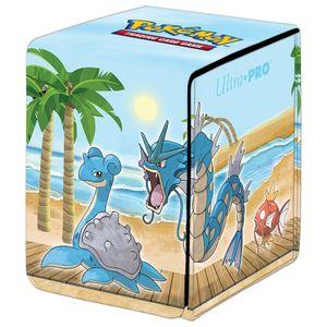 [Pokemon: Gallery Series Alcove Flip Deck Box: Seaside (Product Image)]