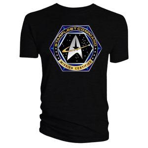 [Star Trek: Voyager: T-Shirt: Starfleet Command (Black) (Product Image)]