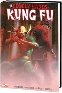 [Deadly Hands Of Kung Fu: Omnibus: Volume 1 (Hardcover - Dell'otto Cover) (Product Image)]