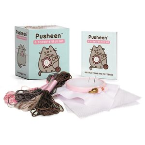 [Pusheen: Cross-Stitch Kit (Product Image)]