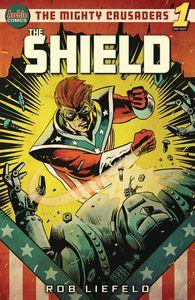 [Mighty Crusaders: The Shield (Cover B Francavilla) (One Shot) (Product Image)]