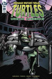 [Teenage Mutant Ninja Turtles: Urban Legends #20 (Cover A Fosco) (Product Image)]