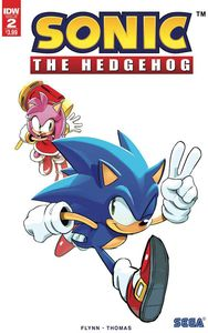 [Sonic The Hedgehog #2 (2nd Printing) (Product Image)]