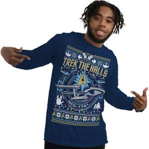 [Star Trek: Christmas Jumper: Trek The Halls (Product Image)]