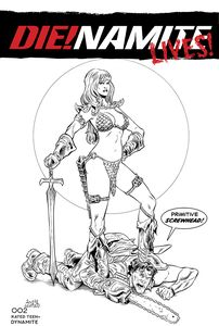 [Die!Namite Lives #2 (Cover F Acosta Pencil Art Variant) (Product Image)]