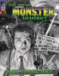 [Scary Monsters 2018 Yearbook Monster Memories (Product Image)]