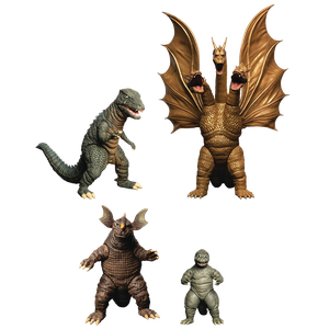 [Godzilla: Action Figure Xl Box Set: Round 2: Destroy All Monsters (1968) (Product Image)]