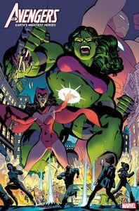 [Avengers #37 (Rodriguez Where Avengers Dwell Horror Variant) (Product Image)]