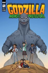 [Godzilla: Monsters & Protectors #1 (Cover A Dan Schoening) (Product Image)]
