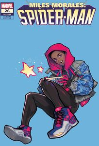 [Miles Morales: Spider-Man #26 (Rose Besch Miles Variant) (Product Image)]