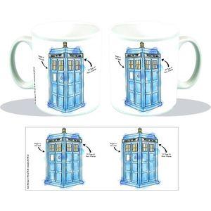 [Doctor Who: Mug: TARDIS Watercolour (Product Image)]