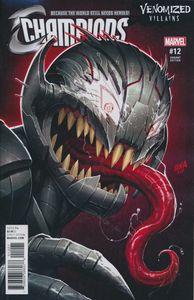 [Champions #12 (Venomized Ultron Variant) (Secret Empire) (Product Image)]