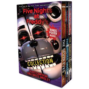 [Five Nights At Freddy's: 3-Book Boxed Set With Original Art (Product Image)]