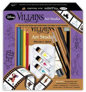 [Disney Villains Art Studio (Hardcover) (Product Image)]