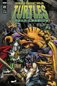 [Teenage Mutant Ninja Turtles: Urban Legends #21 (Cover A Fosco) (Product Image)]