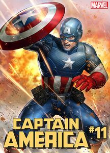 [Captain America #11 (Yoon Lee Marvel Battle Lines Variant) (Product Image)]