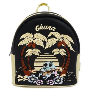 [Lilo & Stitch: Satin Mini Backpack: Stitch (Product Image)]