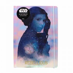 [Star Wars: A5 Notebook: Leia (Hardcover) (Product Image)]