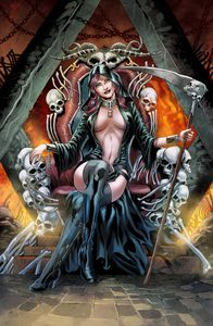 [Tales Of Terror: Annual: Goddess Of Death (Cover B Vitorino) (Product Image)]