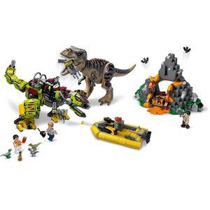 [LEGO: Jurassic World: T-Rex Vs Dino Mech Battle (Product Image)]