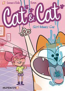 [Cat & Cat: Volume 1: Girl Meets Cat (Hardcover) (Product Image)]